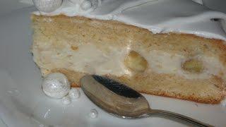 Как приготовить йогуртовый торт на классическом бисквите