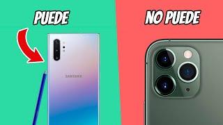 Cosas que el Galaxy Note 10+ PUEDE hacer y el iPhone 11 Pro NO