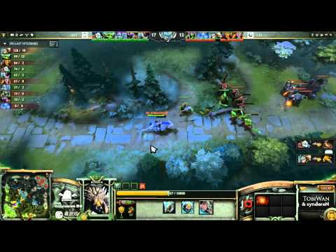 SNT vs CIS Game 1 - SinaCup China Dota 2 1st Qualifier - TobiWan & syndereN