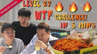 Finish This Level 27 Spicy Ayam Geprek and it is FREE!  | Eatbook Challenges | EP 7
