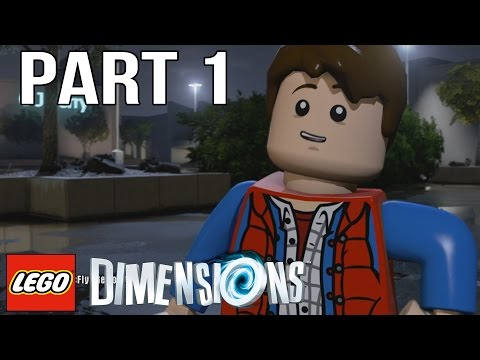 LEGO Back to the Future Walkthrough Part 1 - LEGO Dimensions Back to the Future Level Pack