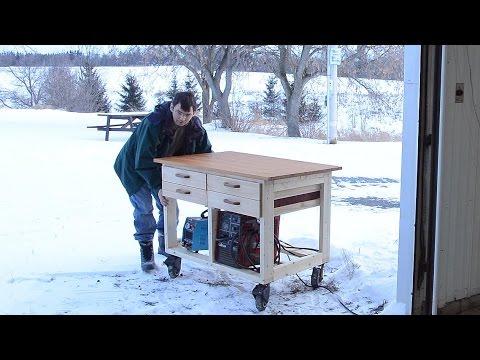 Workbench On Wheels Youtube