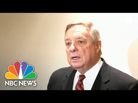Durbin Disputes President Trump's 'Shithole' Denial: 'He Said These Hate-Filled Things' | NBC News