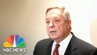 Durbin Disputes President Trump's 'Shithole' Denial: 'He Said These Hate-Filled Things'   NBC News
