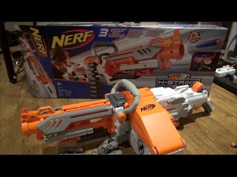 NERF N-Strike Havok Fire EBF-25 Unboxing and Review