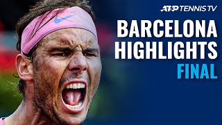Rafael Nadal vs Stefanos Tsitsipas | Barcelona Open 2021 Final Highlights