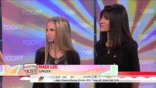 Madi Lee appears on the Today Show August 7, 2013