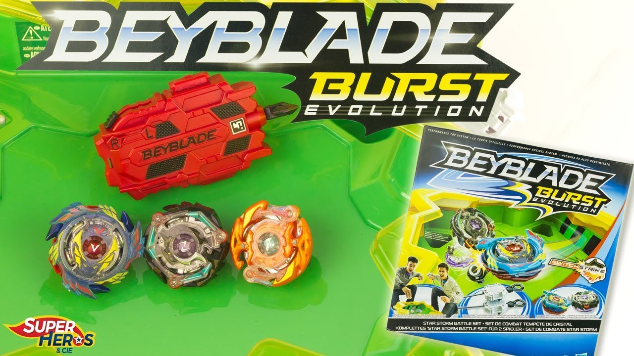 De Burst Switch Cristal Strike Beyblade Toupies Evolution Tempête dxoEBeQWCr
