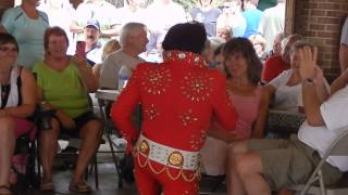 Andy Svrcek (Elvis) - Elvis medley - Coplay, PA - August 30, 2015