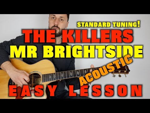How to play The Killers -Mr Brightside (acoustic)