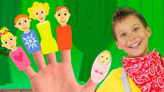 Finger Family Song with Mango | Nursery Rhymes for Kids, Toddlers and Baby