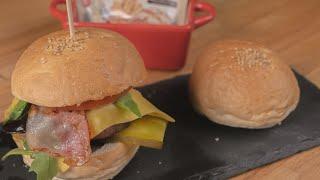 Receta para pan de Hamburguesa - Levanova