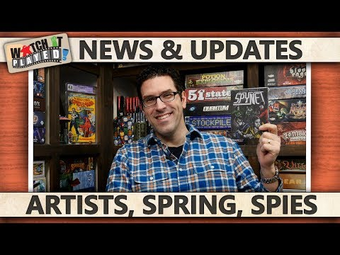 News (2018-02-14): Artists Series / BGG.Spring / Podpledge