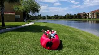 Outdoor Inflatable Lounger Review