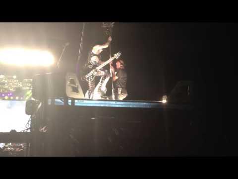 KISS - Love Gun (Paul Stanley Flying) Simpsonville, SC 8/13