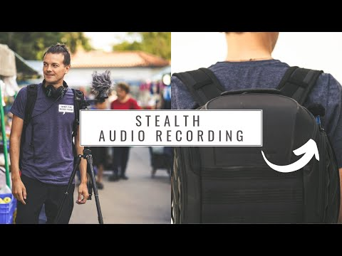FIELD RECORDING & HOW TO RECORD STEALTH BETWEEN PEOPLE ON MARKETS! ZOOM F8N, LOM USI PRO