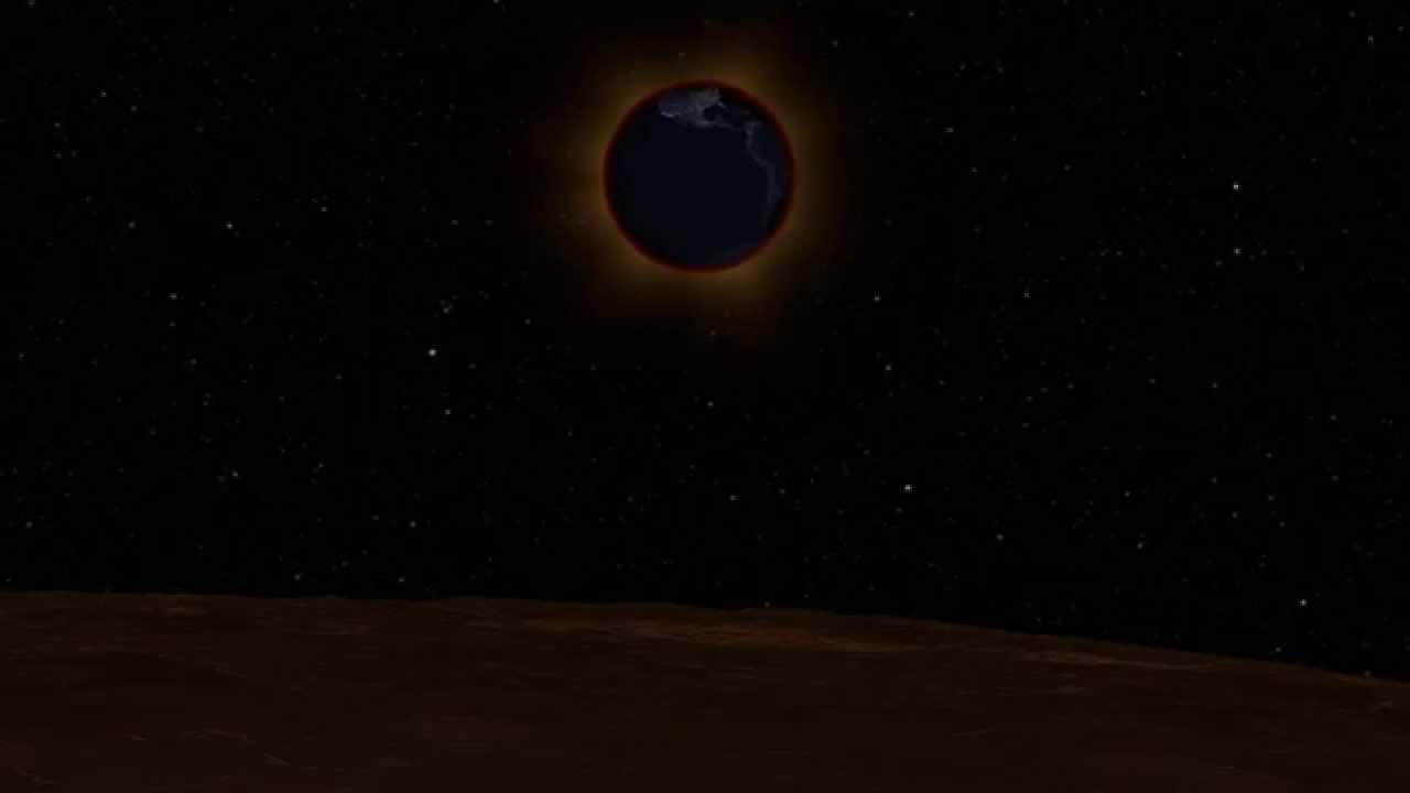 lune vue de la terre