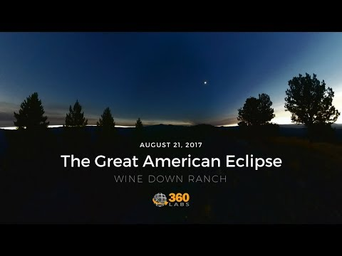 Total Solar Eclipse, Oregon 2017