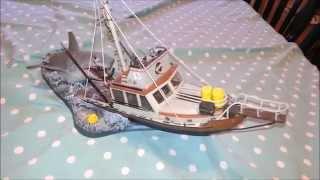 Mcfarlane Toys Movie Maniacs JAWS Diorama Review