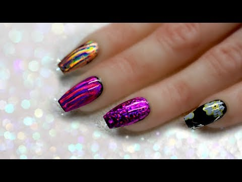 🤔TESTING NAIL FOIL ADHESIVE! CHEAP OR EXPENSIVE? 🤷🏻♀️ FULL COVERAGE FOILS - WHICH WORKS BEST?