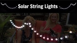 Solar String Lights by Anteco Review