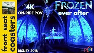 Frozen Ever After 4K POV Full Ride Epcot 2018 Disney World On-Ride | Front Seat Coasters