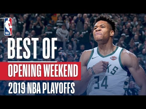 a58013b877 BEST PLAYS From Opening Weekend | 2019 NBA Playoffs - YouTube