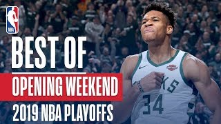 Download BEST PLAYS From Opening Weekend | 2019 NBA Playoffs Mp3 and Videos
