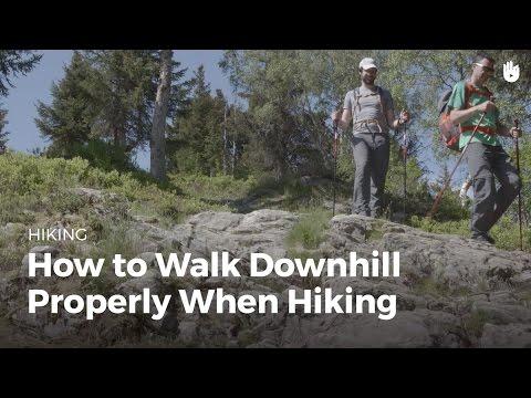 How to Walk Downhill | Hiking