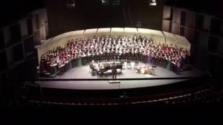 lux beatisima ccsd honor choir 2016