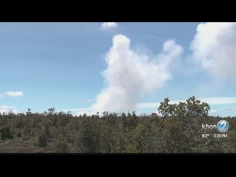 3pm Lava update from Hawaii County Civil Defense