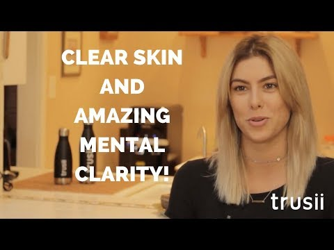 trusii Hydrogen Water Stories: Kelsie's skin cleared up, and so did her mind!