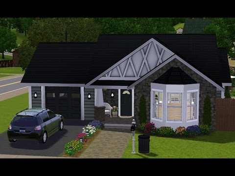 The Sims 3 House Building - Small Cottage♡