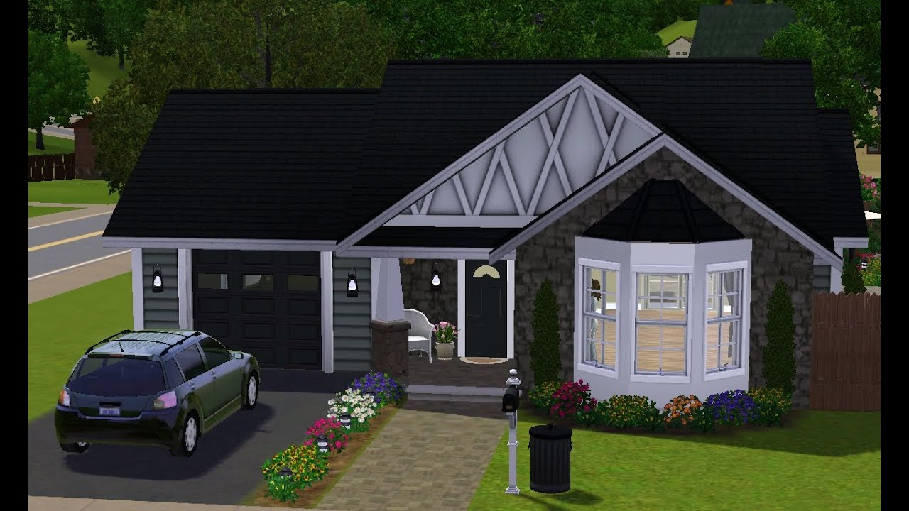 The Sims 3 House Building Small Cottage Youtube