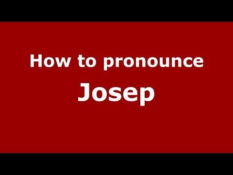 How to pronounce Josep (Spanish/Argentina) - PronounceNames.com