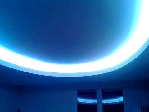 Controsoffitto in cartongesso con illuminazione a led  YouTube