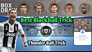 Thunder Black Ball Trick In National Stars Pack!! 【PES 2019 Mobile】