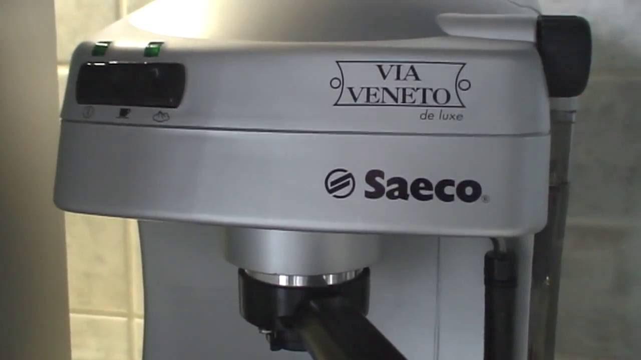 Saeco Via Veneto Deluxe Espresso