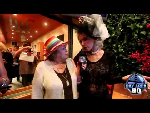 Catwoman Claws Hat Lady! Hilarious Julie Newmar Interview!