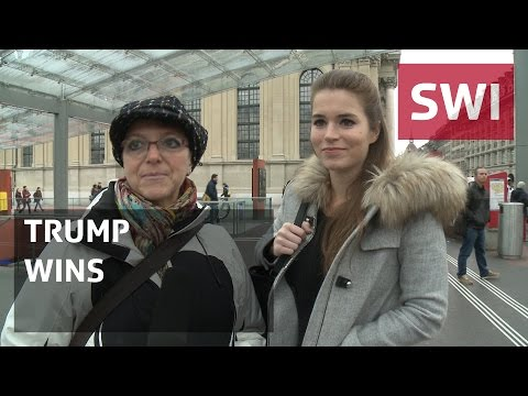 How the Swiss capital reacted to Trump's win