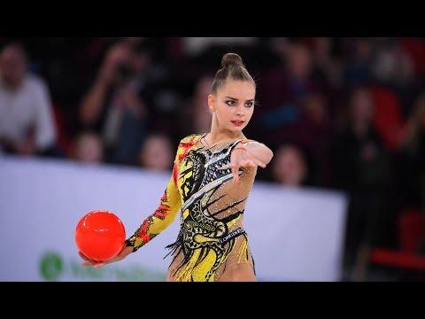 Arina Averina - Ball AA 22.20 GP Moscow 2020