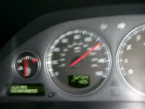 Volvo S60 T5 >> Volvo S60 T5 with RICA chip / remap / tuning 0-120 MPH - YouTube