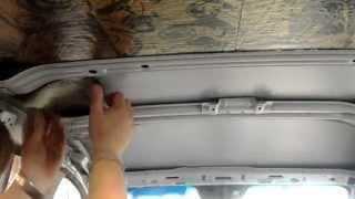 Вибро и шумоизоляция потолка автомобиля Chevrolet Cruze Sedan