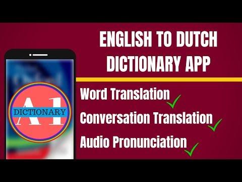 English to Dutch Dictionary App | English to Dutch Translation App