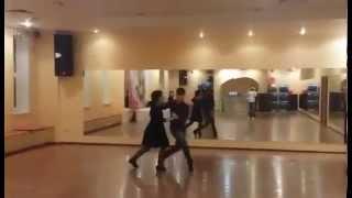 Танец Пасодобль.  Урок в Данза студио.