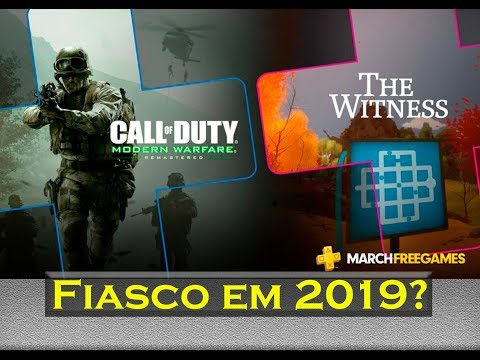 Playstation Plus | Fiasco em 2019? thumbnail