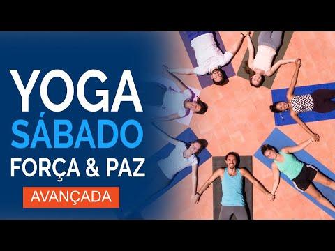 Sábado: Força e Paz 🍃Yoga Matinal & Yoga para iniciantes