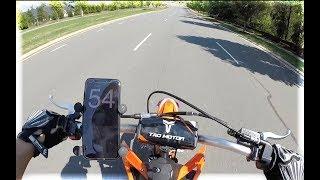 2019 TAO TAO DBX1 Top Speed Test (Brand New Bike Stock Everything)