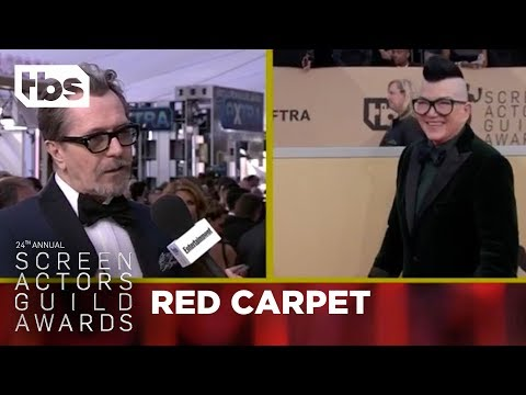 Gary Oldman: Red Carpet Interview | 24th Annual SAG Awards | TBS