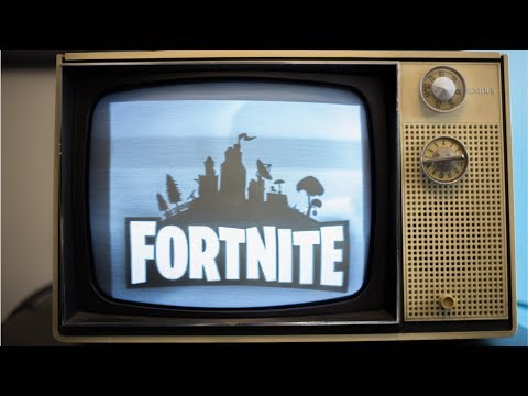Fortnite On A 50 Year Old TV!